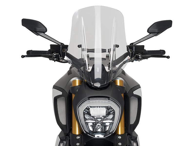 Nuevas pantallas Puig para la Ducati Diavel