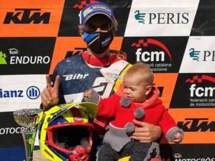 Ramon Brucart, campeonísimo de Catalunya de MX3