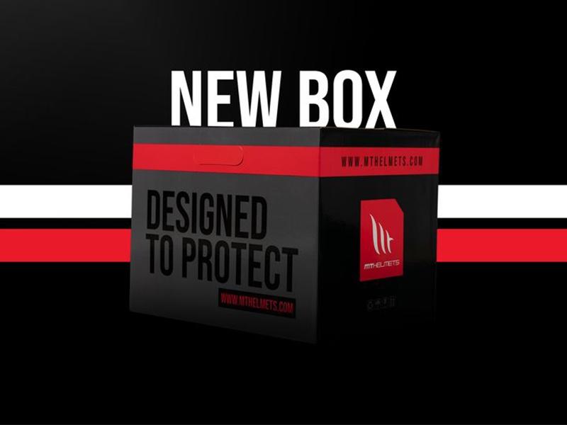 MT Helmets revoluciona su packaging (sus cajas)