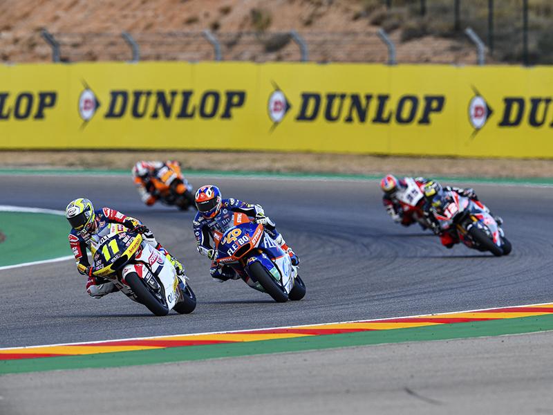 Dunlop será el proveedor de neumáticos de Moto2 y Moto3 hasta 2023