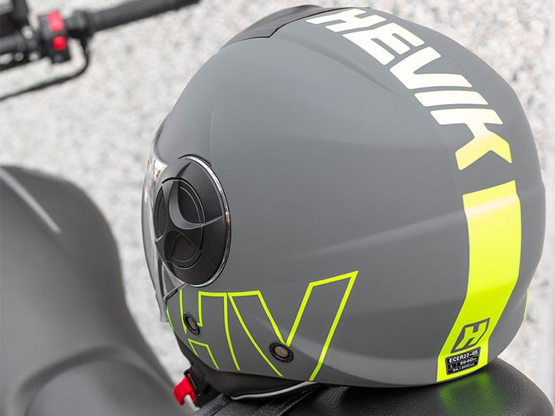 Un casco jet para todo el año, el Hevik Metropole