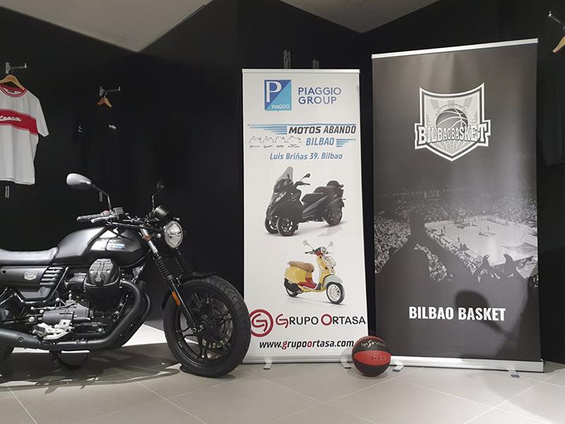 Motos Abando es el nuevo concesionario de Grupo Piaggio en Bizkaia