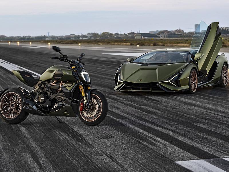 Ducati presenta la edición limitada Diavel 1260 Lamborghini