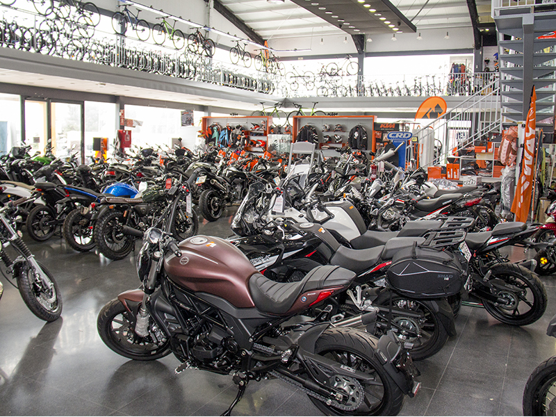 Las matriculaciones de motocicletas caen un 17,5% en octubre