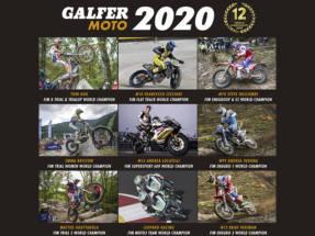 Gran temporada 2020 de los pilotos Galfer: doce campeonatos mundiales y 25 títulos en total
