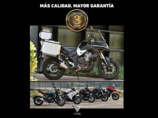 Voge amplía la garantía de sus motos a 3 años