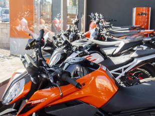 Noviembre cierra con un desplome de las ventas de motocicletas del 18,5%