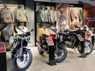 Triumph estrena instalaciones en X-Madrid