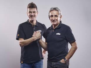Marc Coma toma el relevo de César Rojo a los mandos de KTM