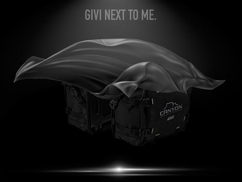 GIVI NEXT TO ME: el tour virtual para conocer las novedades 2021 de GIVI