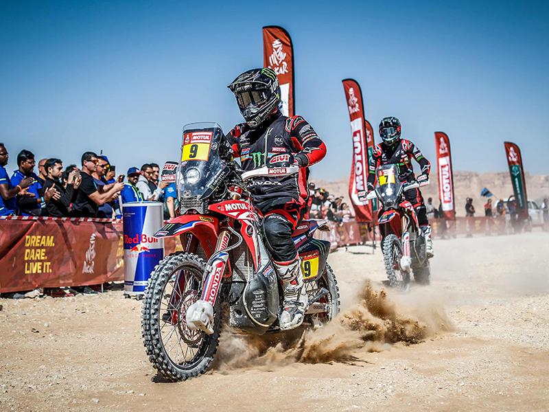 Motul en el Dakar 2021: Un aliado en las dunas