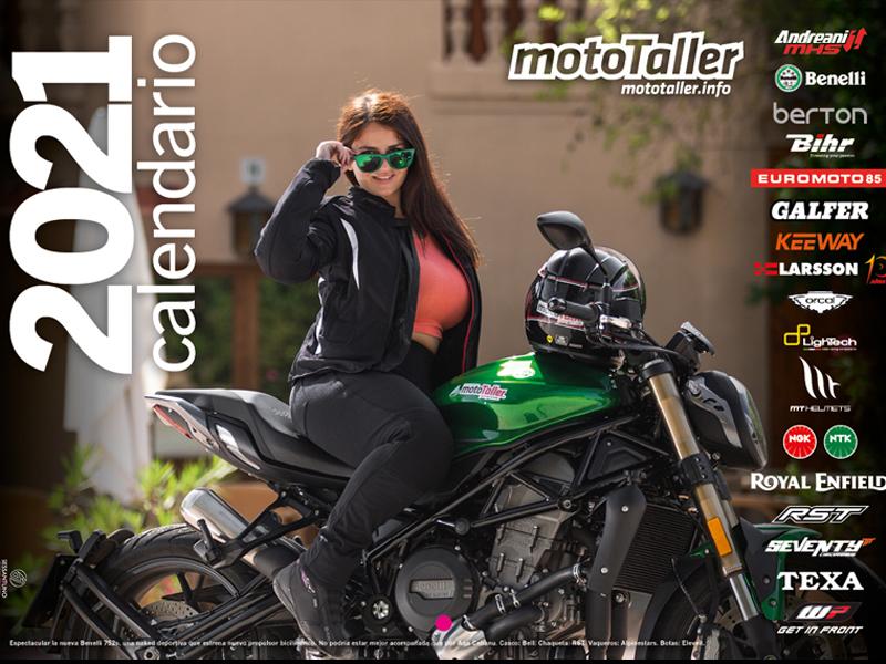 Ya disponible el Calendario MotoTaller 2021