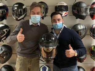 Kevin Manfredi elige el casco Drift Evo de Caberg