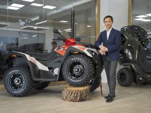 Kymco vuelve a comercializar ATV en España