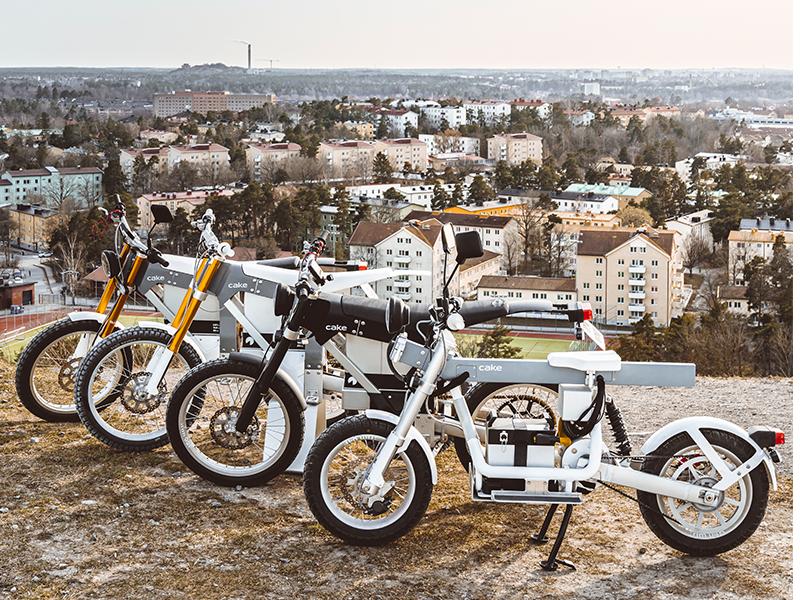 La marca sueca de motos eléctricas Cake llega a España