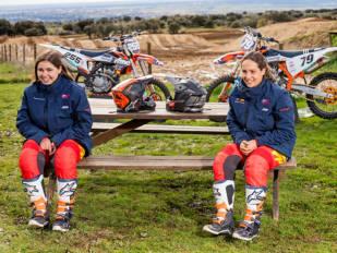 Daniela Guillén y Gabriela Seisdedos, a la conquista del Mundial de MX