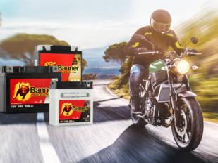 Máxima potencia de arranque con las baterías Bike Bull de Banner