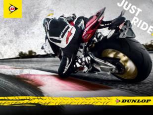 Just Ride es el lema de la nueva identidad de marca de Dunlop Moto en Europa