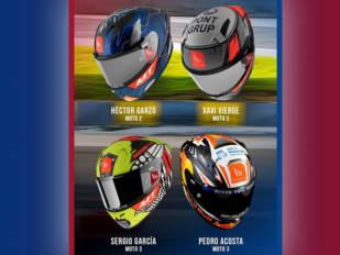 MT Helmets muestra sus últimas creaciones para Moto2 y Moto3
