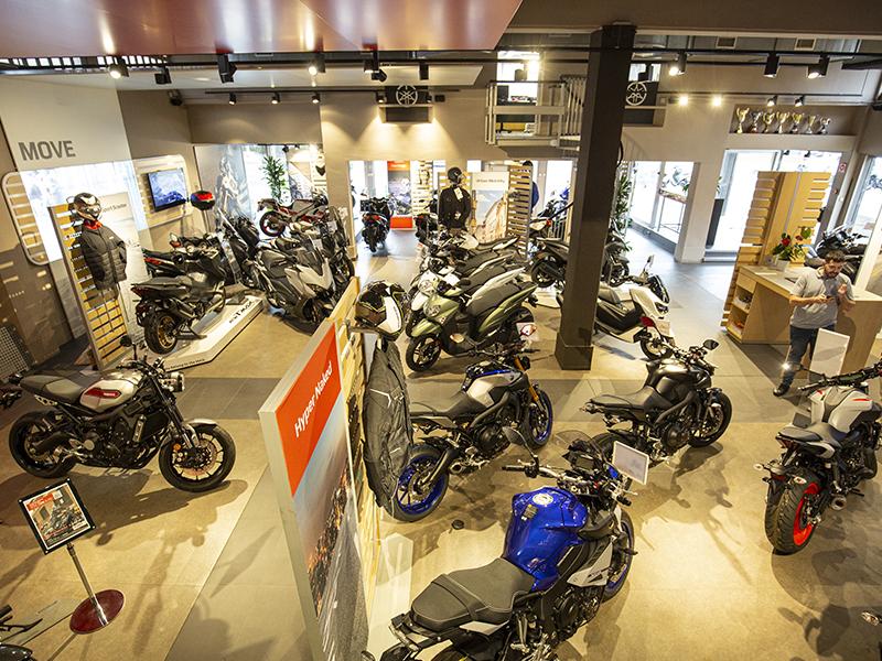 Las matriculaciones de motocicletas caen un 23,4% en febrero