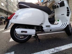 Escapes GPR para las Vespa GTS 125 cc y 300 cc