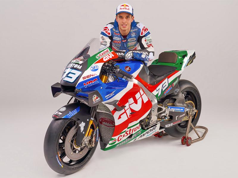 Sena apoya al equipo LCR Honda de MotoGP