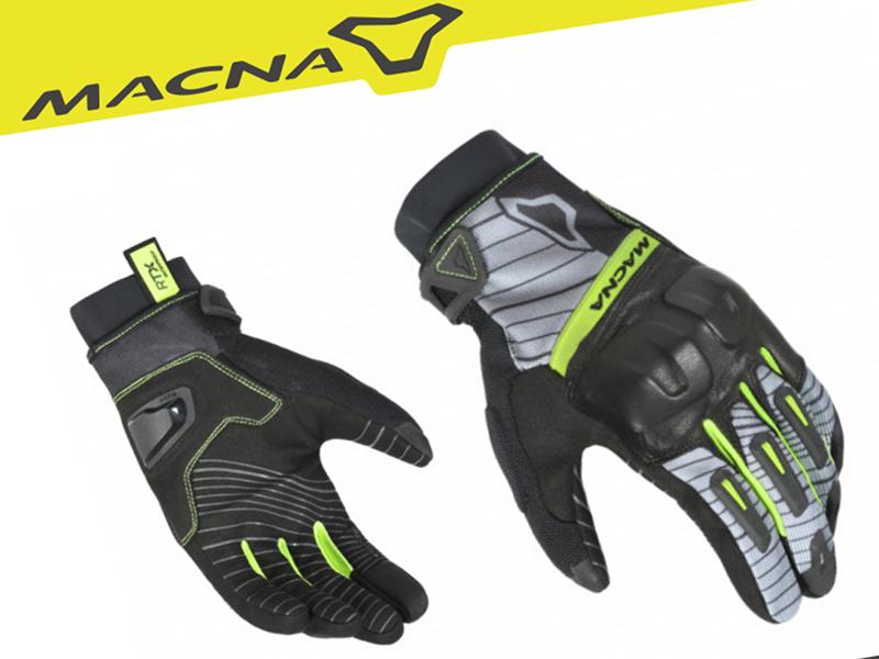 Splash Design presenta los guantes Attila RTX de Macna