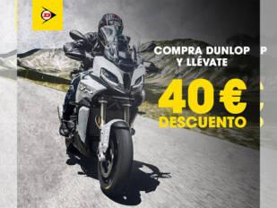 Dunlop devuelve 40€ por la compra de sus neumáticos