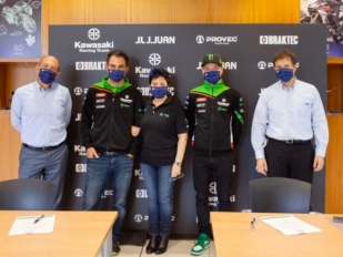J.Juan y Kawasaki Racing Team amplían su acuerdo de patrocinio 2 años más