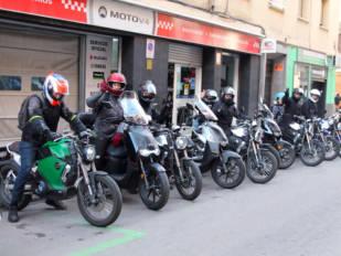 MotoV4 organizó en Madrid el primer encuentro Supersoco