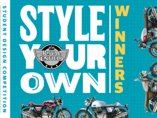 Luke Robbins y Alessio Ramundo, ganadores del concurso Royal Enfield 'Style Your Own'