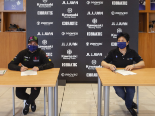 J.Juan y Kawasaki Provec renuevan su acuerdo de patrocinio en el WorldSSP300