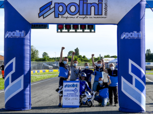 Polini consigue un récord del mundo