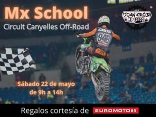Curso de motocross en el Circuit de Canyelles