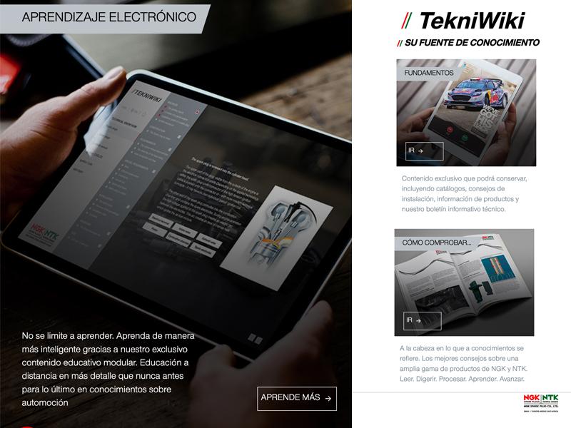 NGK Spark Plug actualiza la plataforma de información técnica TekniWiki