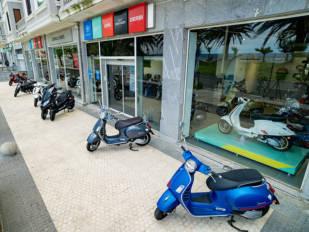 Zurriola Bikes es el nuevo concesionario del Grupo Piaggio en Donostia