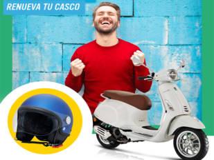 "Grupo Piaggio lanza la campaña ""Plan Renove Cascos"""