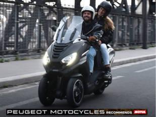 Motul, proveedor de Peugeot Motocycles