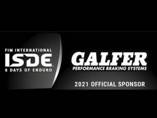 Galfer, patrocinador oficial de los Enduro Six Days 2021