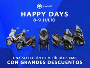 Los 8 y 9 de julio son los Happy Days Piaggio