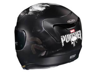 El casco deportivo HJC RPHA 11…¡en versión The Punisher Marvel!