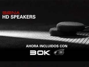 Sena incorpora a su sistema de comunicación 30K unos altavoces HD de alta calidad
