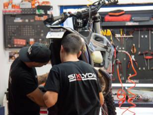 Sixlyon Bikes: El taller de los récords