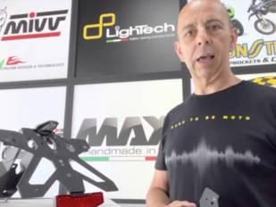 Dmot Gestión nos muestra el portamatrículas de Lightech