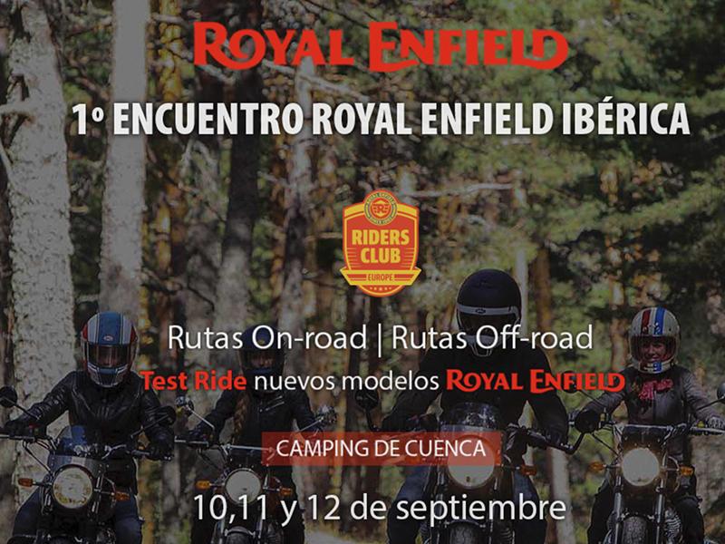Los propietarios de una Royal Enfield se reúnen este fin de semana en Cuenca