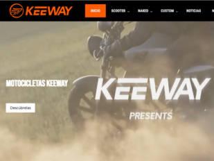 Keeway estrena nueva página web