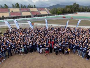 J.Juan reúne a 560 trabajadores en Montmeló para disfrutar de la prueba del Campeonato del Mundo de SBK