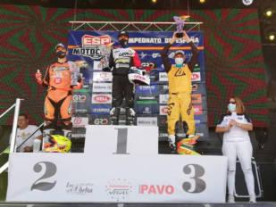 Ramon Brucart consigue la tercera posición en la cita de Badajoz del Campeonato de España de Motocross