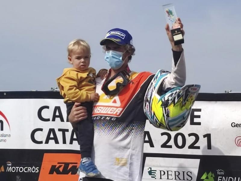 Ramon Brucart revalida el título de Campeón de Catalunya de Motocross
